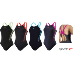 Costume donna Boom Splice Muscleback Speedo