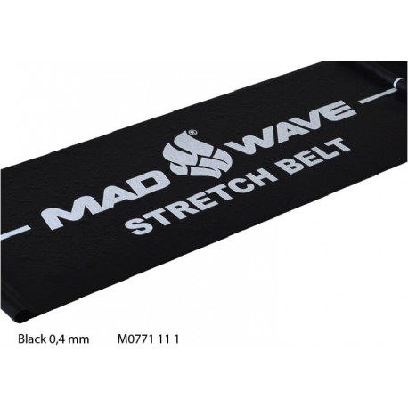 Black - Stretch Band Mad Wave