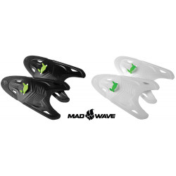 White - Mad Wave Paddles Freestyle
