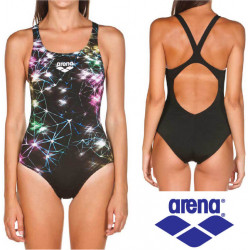Arena Swimsuit Woman Galaxy V Back
