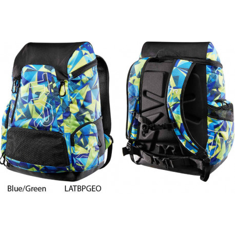 Blue/Green - Tyr Alliance 45L Backpack - Special Edition