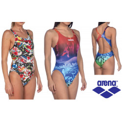 Space Manga - Arena Swimsuit Woman Dreamscape Swim Tech High
