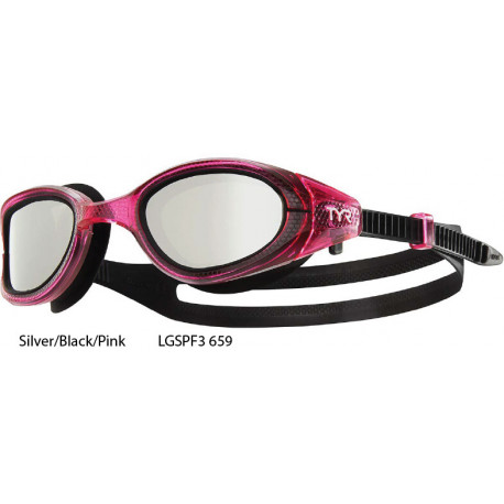 Silver/Black/Pink - Occhialini Special OPS 3.0 Femme Tyr