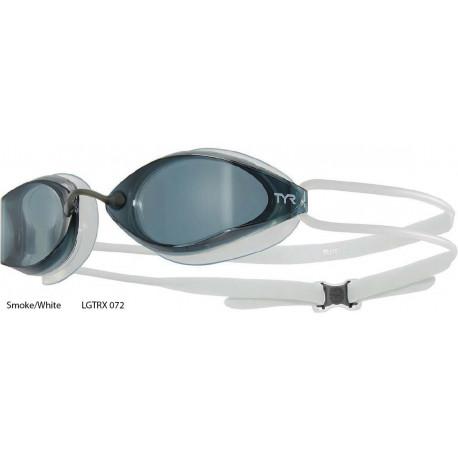 Smoke/White - Tyr Tracer-X Racing goggles