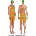 Costume donna Powerskin Carbon AIR 2 ARENA Lime Orange FBSLOB/FBSLCB