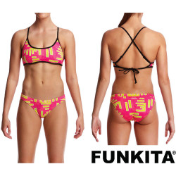 Costume Funkita Due Pezzi Bar Bar Cross Back