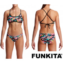 Funkita Crazy Painter Cross Back Two Piece