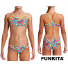 Panel Pop Racerback Two Piece Funkita