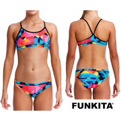 Funkita Colour Burst Racerback Two Piece
