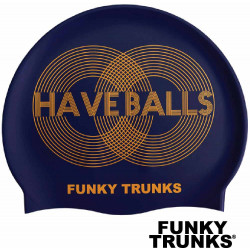 Cuffia nuoto Funky Trunks Golden Balls