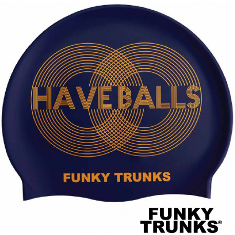 Cuffia nuoto Funky Trunks Golden Balls