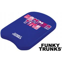 Swimming kickboard Funky Trunks Hammer Time
