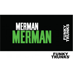 Funky Trunks Green Merman Towels - summer 2018