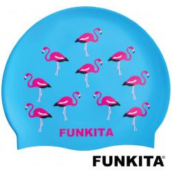 Cuffia nuoto Funkita Go Flamingo