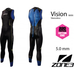 Zone3 Men's Sleeveless Vision Triathlon Wetsuit