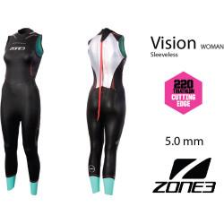 Muta triathlon smanicata donna Vision Zone 3