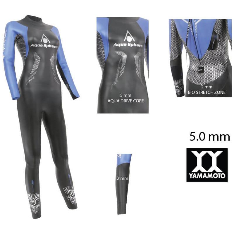 AQUA SPHERE Racer Women's Wetsuit