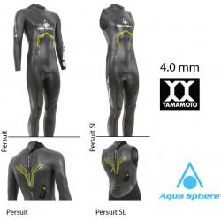 Pursuit e Persuit SL uomo Aqua Sphere - muta acque libere triathlon