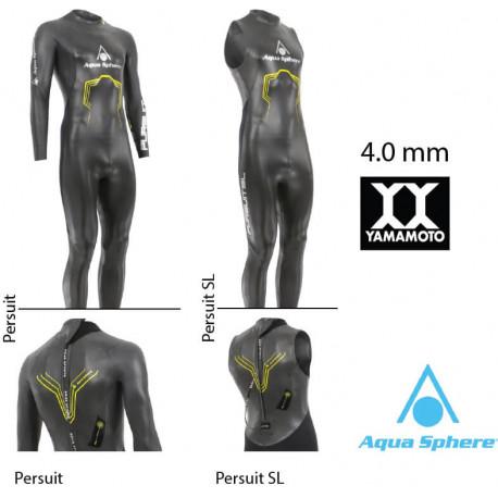 Aqua SPHERE 2018 Challenger Da Uomo Muta TRIATHLON NUOTO IN ACQUE LIBERE