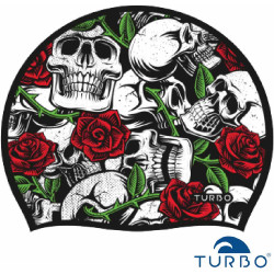 Cuffia Turbo Skull and Roses