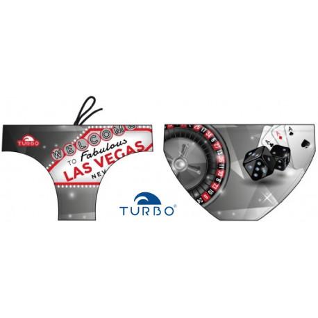 Swim suit Las Vegas Black White Turbo