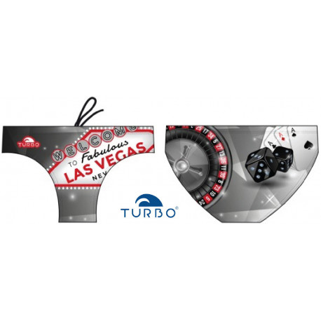 Slip uomo Turbo Las Vegas Black White 2019