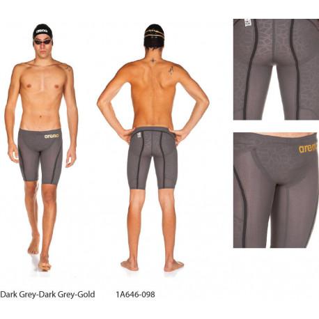Dark Grey/Dark Grey/Gold - Powerskin Carbon Ultra Jammer Arena
