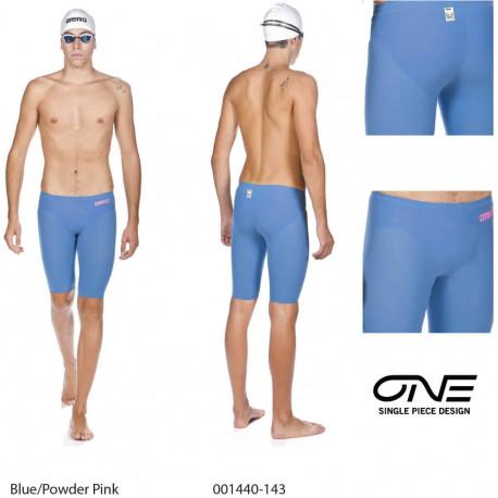 Blue/Powder Pink - Powerskin R-EVO ONE Jammer Arena