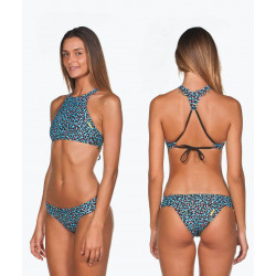 Fresia Rose/Yellow Star - Crop THINK Top bikini Arena