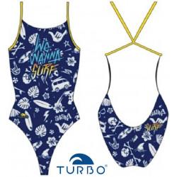 Costume intero da donna Wanna Surf Turbo
