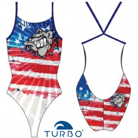 Costume intero donna Turbo Pro-Racer Americans 2019