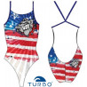 Costume intero donna Turbo Pro-Racer Americans 2019