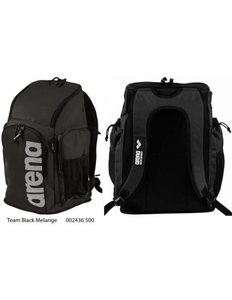 Team Black Melange - Arena Team 45L Backpack