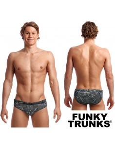 Crack Up Brief Funky Trunks
