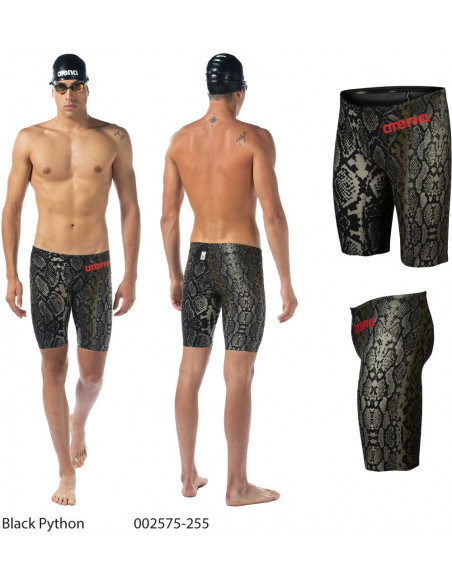 Black Python - Arena Powerskin Carbon-Air² Jammer - Limited Edition 2019