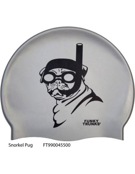 Snorkel Pug - Cuffia Nuoto Funky Trunks FV19