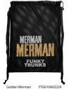Golden Merman - Mesh Funky Trunks FV19