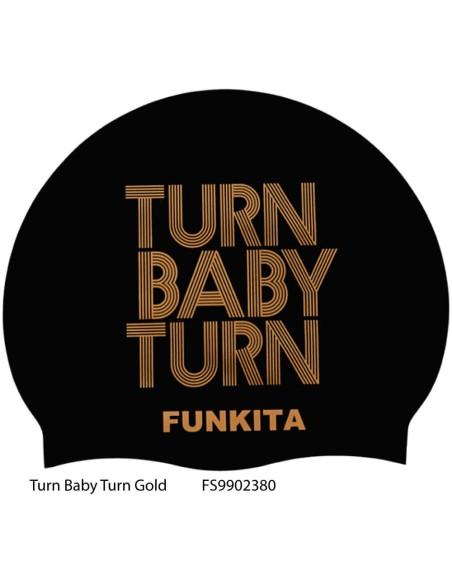 Turn Baby Turn Gold - Cuffia Nuoto FV19 Funkita