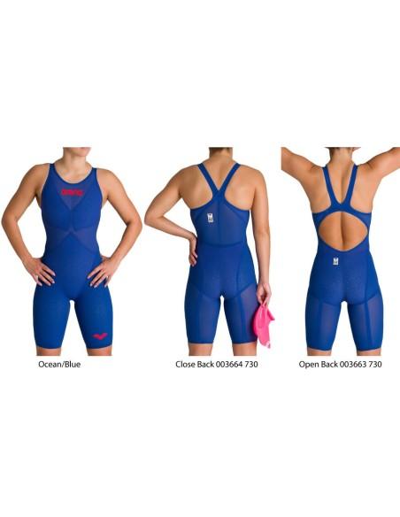 Ocean/Blue - Powerskin Carbon Glide donna Arena