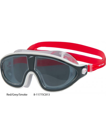 Red/Grey/Smoke - Speedo Biofuse Rift Mask