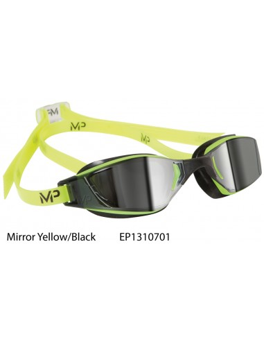 Yellow/Black - Occhialino XCEED Mirror MP Michale Phelps