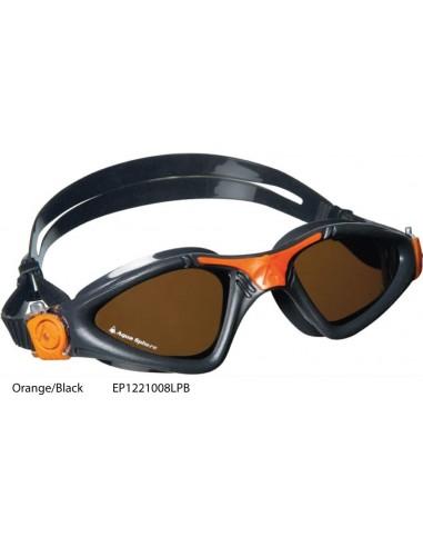 Orange/Black - Kayenne Polarized goggle Aqua Sphere