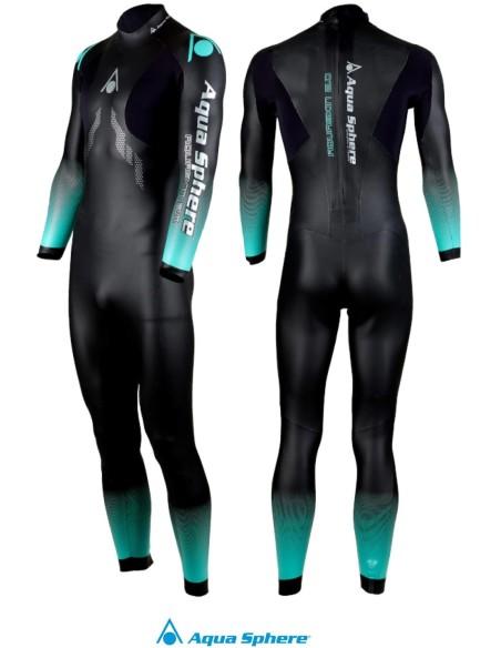 Aqua Sphere Men's Aquaskin Full Suit