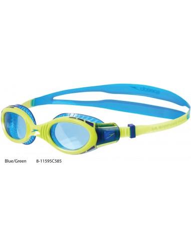 Blue/Green - Futura Biofuse Flexiseal Junior Speedo