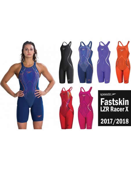 LZR Racer X Open Back Kneeskin Speedo 2018