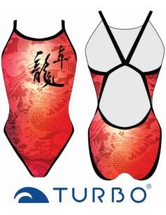 Costume donna Turbo Revolution Chinese Dragon