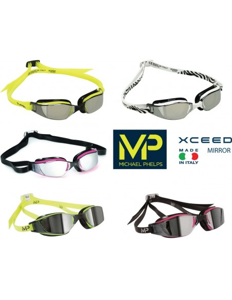 Occhialino XCEED Mirror MP Michale Phelps
