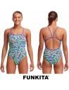 Funkita Mint Strips One Piece