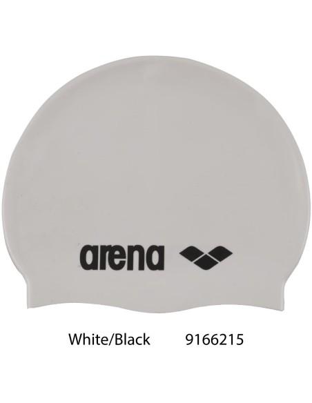 Arena Classic Silicone - White/Black