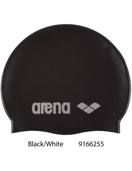 Arena Classic Silicone - Black/White